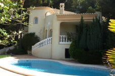 Villa con piscina en la zona de Altea Hills