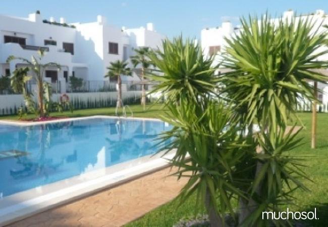 Bungalow de 2 habitaciones a 200 m de la playa en San Juan de los terreros - Ref. 76225-7