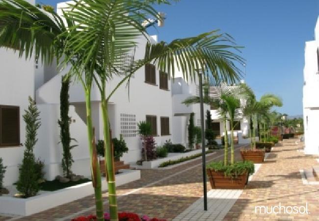Bungalow de 2 habitaciones a 200 m de la playa en San Juan de los terreros - Ref. 76225-22