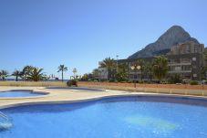 Apartamento con piscina en Calpe