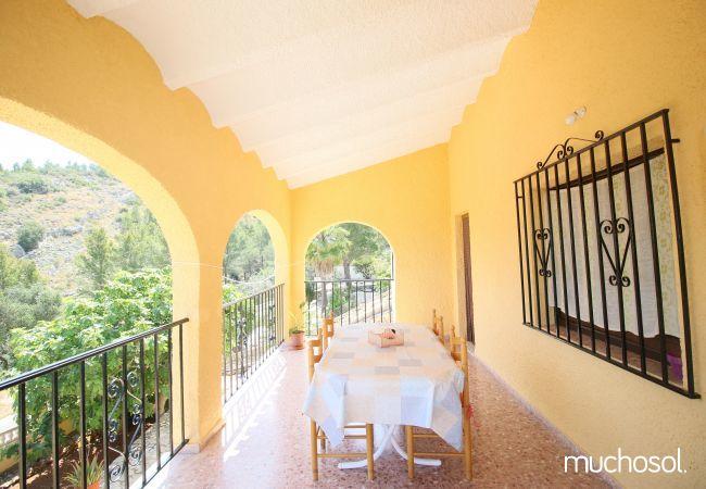 Villa para 6 personas con vistas al mar - Ref. 56731-19