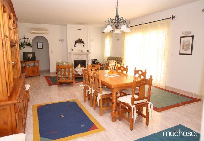 Villa con amplio jardín en Els Poblets - Ref. 76618-3