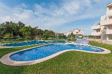 Apartamento con piscina en El Vergel