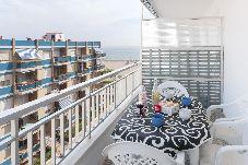 Apartamento en primera línea de playa de Gandia