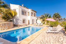 Villa para 6 personas en Moraira