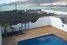 Villa en primera línea de playa de Punta Mujeres - Arrieta